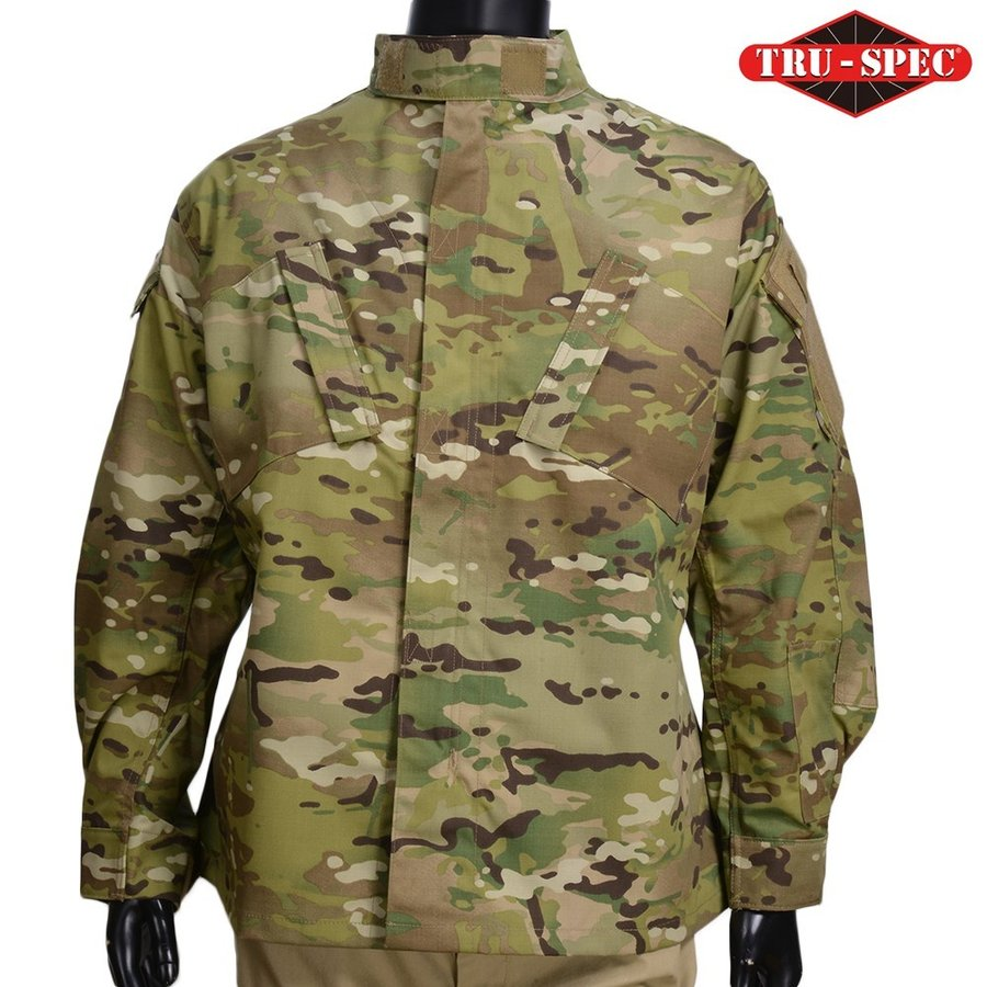 TRU-SPEC BDUジャケット 迷彩 メンズ [ マルチカモ / Sサイズ ] フィールドジャケット アーミージャケット 上着