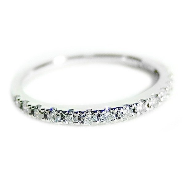 直送商品 ダイヤモンド リング ハーフエタニティ 0.3ct プラチナ Pt900 8号 0.3カラット エタニティリング 指輪 鑑別カード付き, ゴボウシ a16558b3