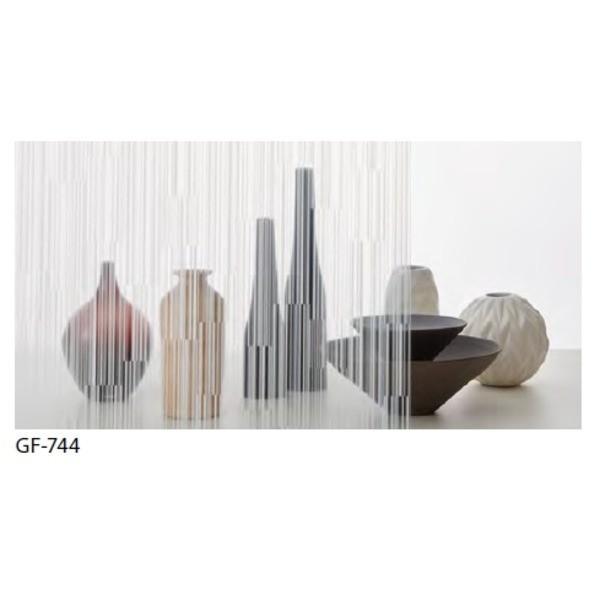 幾何柄 飛散防止ガラスフィルム 飛散防止ガラスフィルム サンゲツ GF-744 92cm巾 7m巻