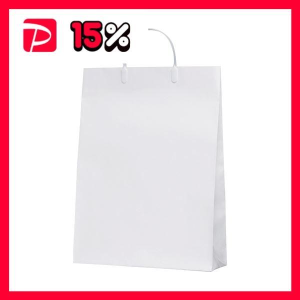 今村紙工 白コーティングバック10枚KWCB-03 ×5セット