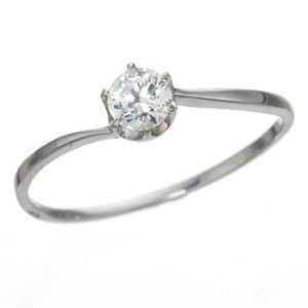 【特価】 大きめだけ プラチナPt900 /0.3ctダイヤリング 指輪 81608/6爪15号, kousen 2cbfd596