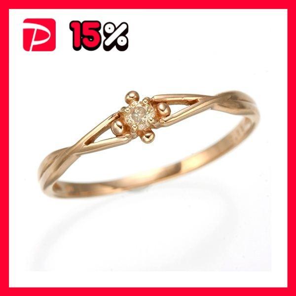 高価値 K10 K10 ピンクゴールド ダイヤリング 指輪 指輪 184273 スプリングリング 184273 21号, ユクハシシ:1778d517 --- taxreliefcentral.com