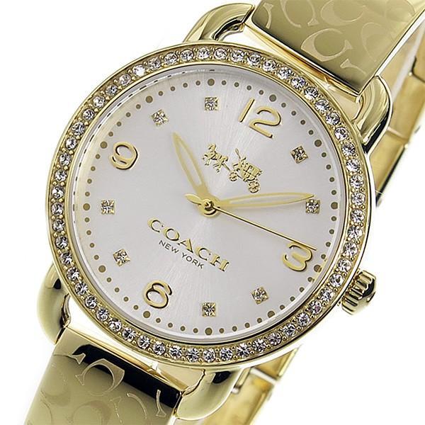 バーゲンで コーチ COACH クオーツ レディース 腕時計 14502354 ゴールド シルバー, お部屋飾りのサポーターサンセイ e40e8aba