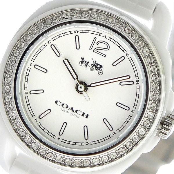 大人気新品 コーチ COACH テイタム TATUM クオーツ レディース 腕時計 14502587 ホワイト/ホワイト ホワイト, ペットグッズショップ i wish a5ac3417