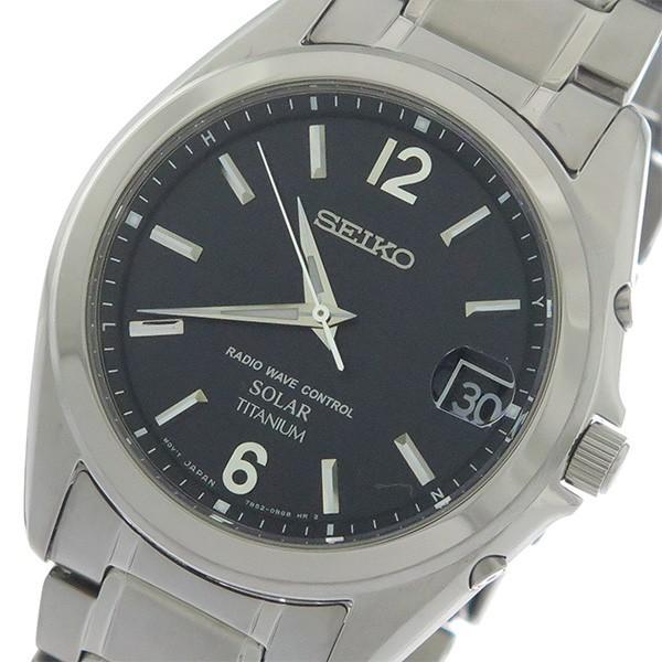 (お得な特別割引価格) セイコー SEIKO ソーラー SOLAR クオーツ ユニセックス 腕時計 SBTM229 ブラック/シルバー ブラック, モデリング レスキュー e8073216