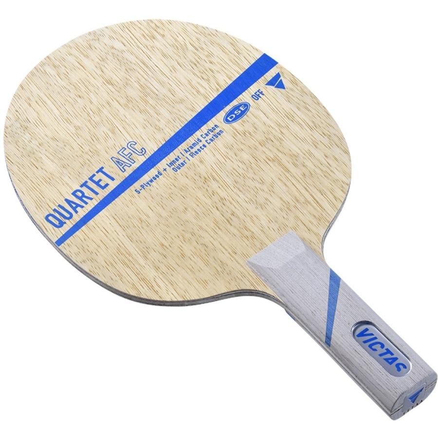 ヴィクタス(VICTAS) 卓球 ラケット カルテット AFC シェークハンド 攻撃用 特殊素材入り ストレート 028605