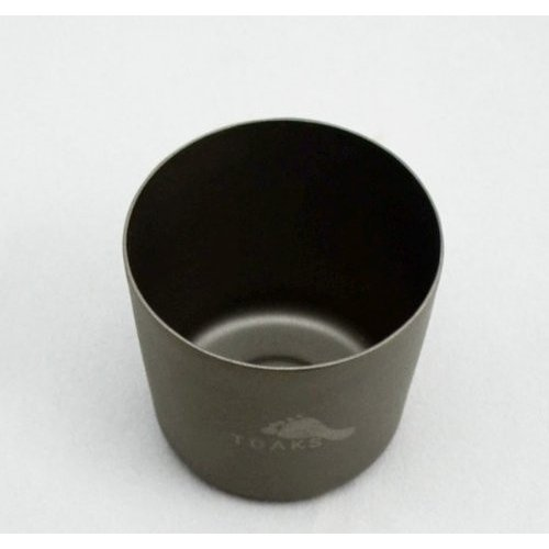 TOAKS (トークス) チタニウム フラスコ + ショットグラス 収納袋付き 日本正規品