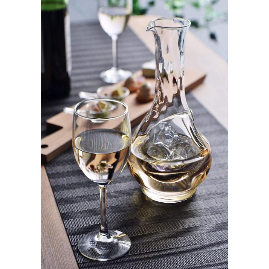 東洋佐々木ガラス ワインクーラー クリア 750ml セレーブル 大 氷ポケット付 日本製 61230|rexisss|06