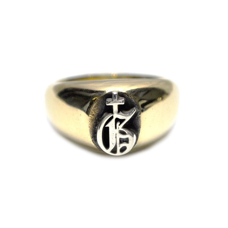 直営店に限定 GANGSTERVILLE x GANGSTERVILLE galcia 1 POINT RING