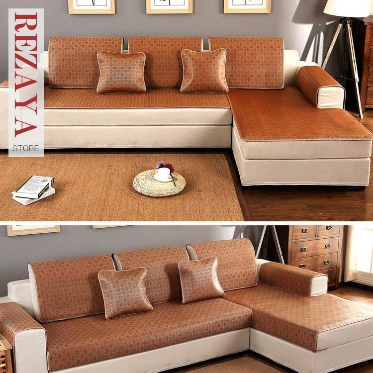7枚セット ソファーカバー おしゃれ 洋風 インテリア 汚れ防止 sofa cover 欧米風 柄模様 滑り止め おしゃれ シンプル 夏用 涼感