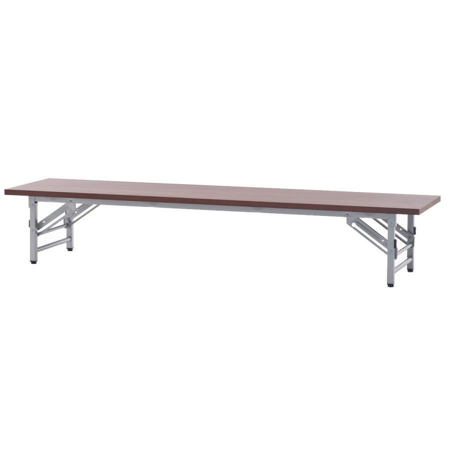[在庫限り] 折りたたみテーブル W1800xD450 座卓 チーク チーク SFTZ-1845T アール・エフ・ヤマカワ RFyamakawa