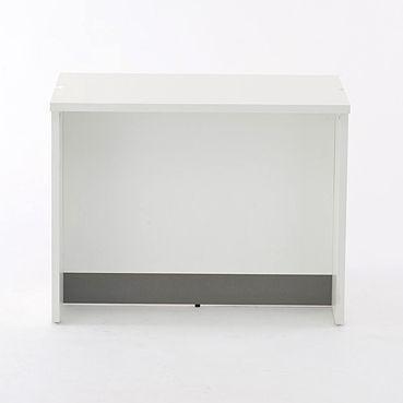ノルムシリーズ 受付ローカウンターII W900 巾木付き ホワイト Z-SHLC-900WH2 アールエフヤマカワ|rf-yamakawa-y|02