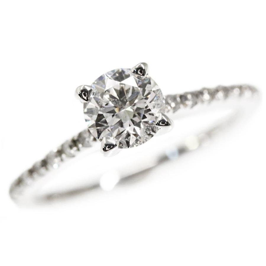 お歳暮 スペンス ダイヤモンドハーフエタニティリング・指輪/K18WG/750-2.1g/0.52ct/FD:0.106ct/保証書付/7号/#47/spence/RF4/h190409/282354, ヨシカワマチ 95391784
