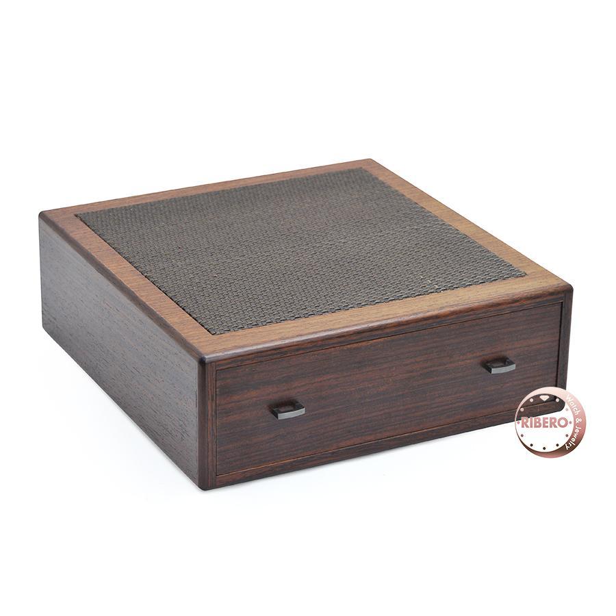 エルメス 小物入れ 収納ボックス インテリア ホーム ウッド/レザー ブラウン 程度A USED HERMES