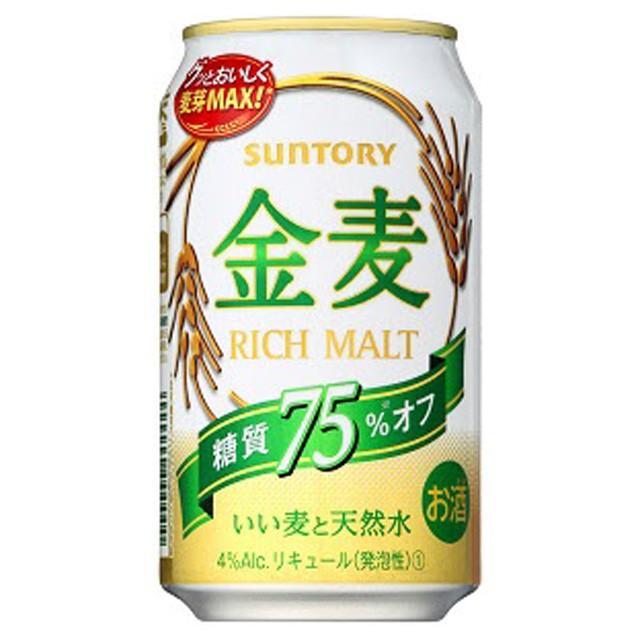 ネピア対象 ST 金麦 糖質75%OFF 350ml缶×24本 ケース サントリー金麦 3ケース〜の購入は送料修正させていただきます 新色追加 アウトレット☆送料無料 ご了承ください