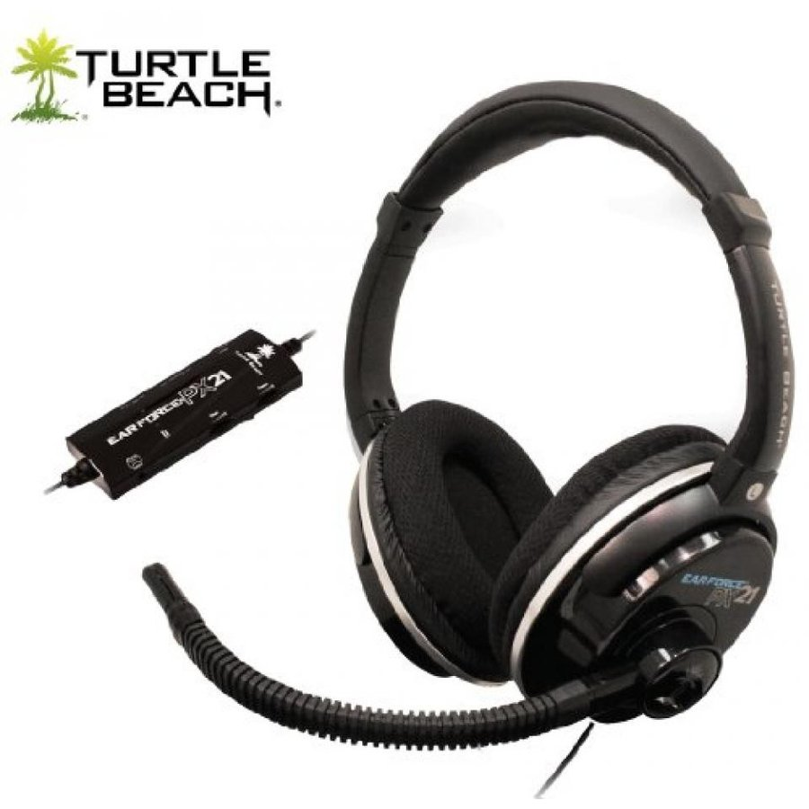 Turtle Beach (タートルビーチ) Ear Force PS3用ゲーミングヘッドセットPS3 Headset + 5.1/7.1 Channel Dolby Surround Sound TBS-DPX21