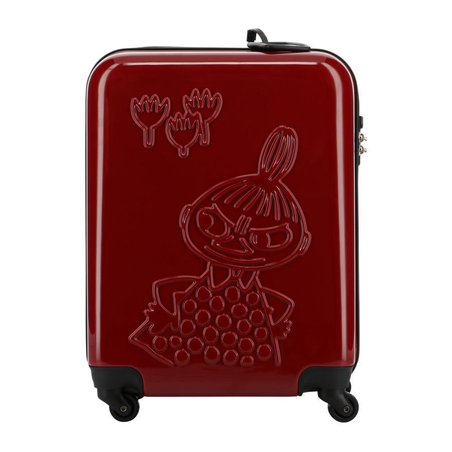 ムーミン スーツケース 35L 47.5cm 2.7kg ハード ファスナー レディース MM2-013 MOOMIN | キャリーケース TSAロック搭載 [PO10]|richard|02