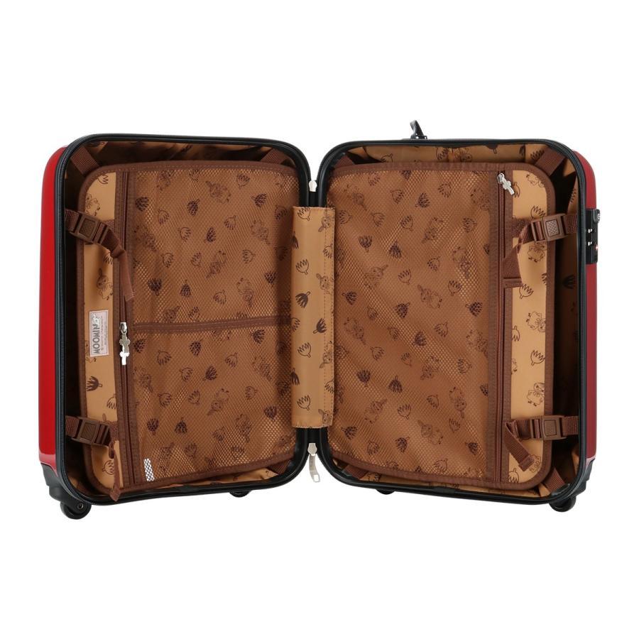 ムーミン スーツケース 35L 47.5cm 2.7kg ハード ファスナー レディース MM2-013 MOOMIN | キャリーケース TSAロック搭載 [PO10]|richard|06