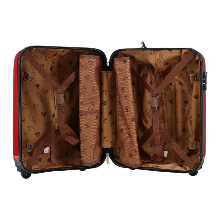 ムーミン スーツケース 35L 47.5cm 2.7kg ハード ファスナー レディース MM2-013 MOOMIN | キャリーケース TSAロック搭載 [PO10]|richard|07