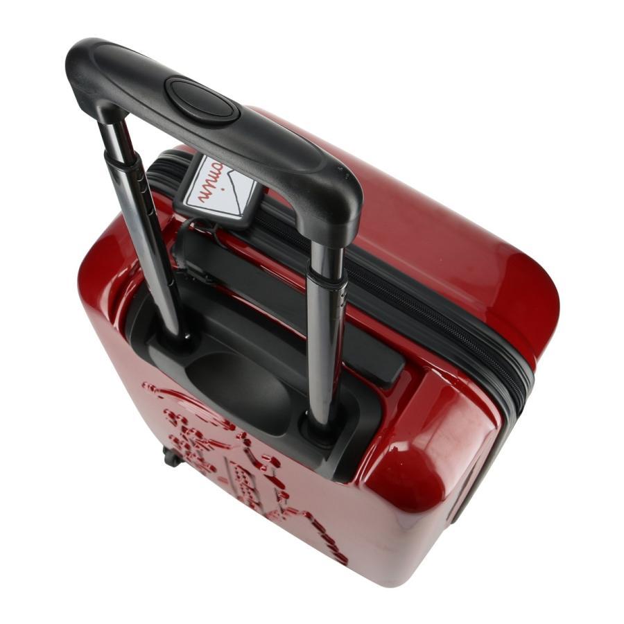 ムーミン スーツケース 35L 47.5cm 2.7kg ハード ファスナー レディース MM2-013 MOOMIN | キャリーケース TSAロック搭載 [PO10]|richard|08