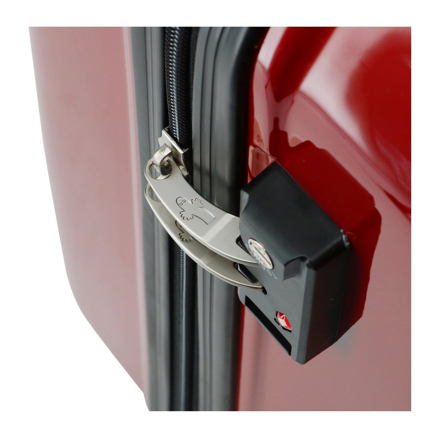 ムーミン スーツケース 35L 47.5cm 2.7kg ハード ファスナー レディース MM2-013 MOOMIN | キャリーケース TSAロック搭載 [PO10]|richard|09