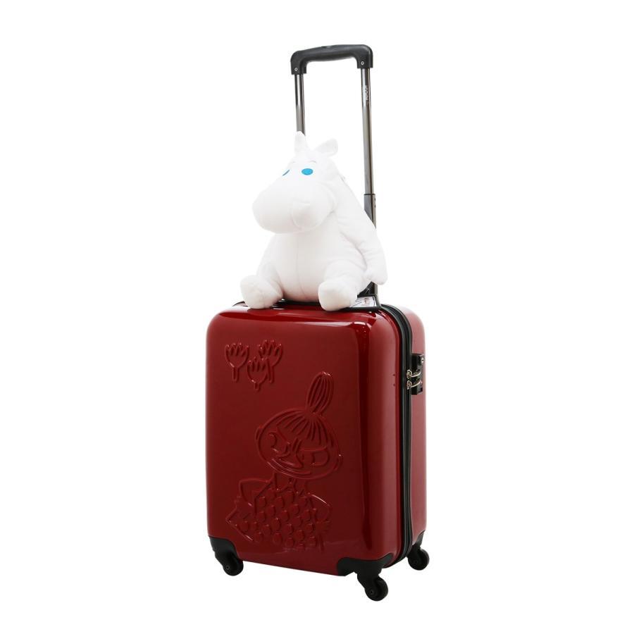 ムーミン スーツケース 35L 47.5cm 2.7kg ハード ファスナー レディース MM2-013 MOOMIN | キャリーケース TSAロック搭載 [PO10]|richard|10