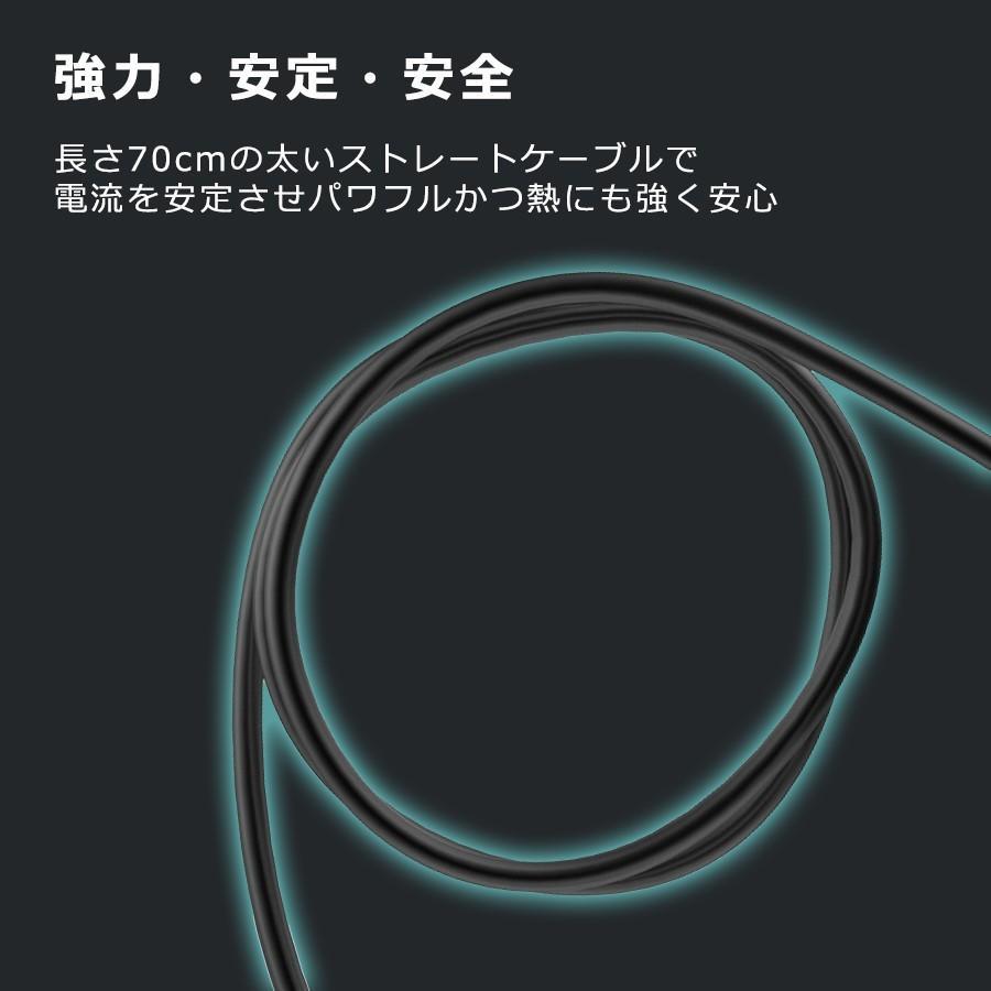 シガー ソケット カー チャージャー 3連 分配器 iPhone Android 急速充電 USB 2.1A 電圧測定 機能 搭載 12V 24V 車対応 送料無料 PHILIPS ブランド 直販店 richgo-japan 10