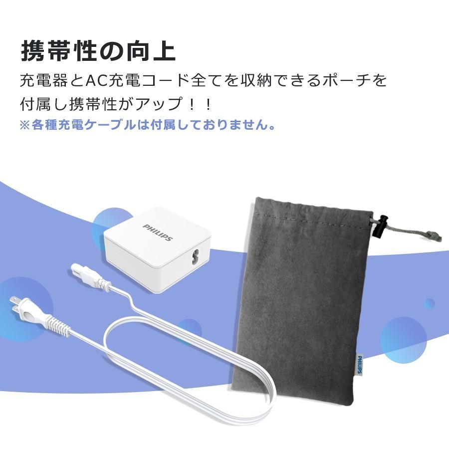 iPhone Android 対応 USB Type-C 急速 充電器 4ポート 合計 最大 66W 出力 PD QC 対応 コンパクト 安心 安全 PSE認証 PHILIPS 直販店 richgo-japan 10