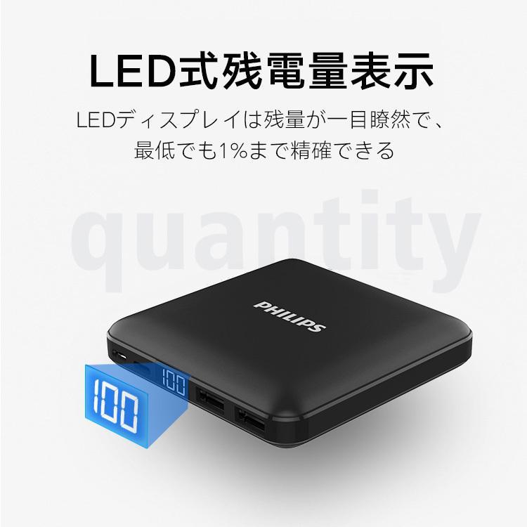 モバイルバッテリー 大容量 10000mAh 急速充電 軽量 小型 安全 コンパクト PSE適合品 2台同時充電 Type-C 入力 iPhone/iPad/Android 各種対応 送料無料 richgo-japan 15
