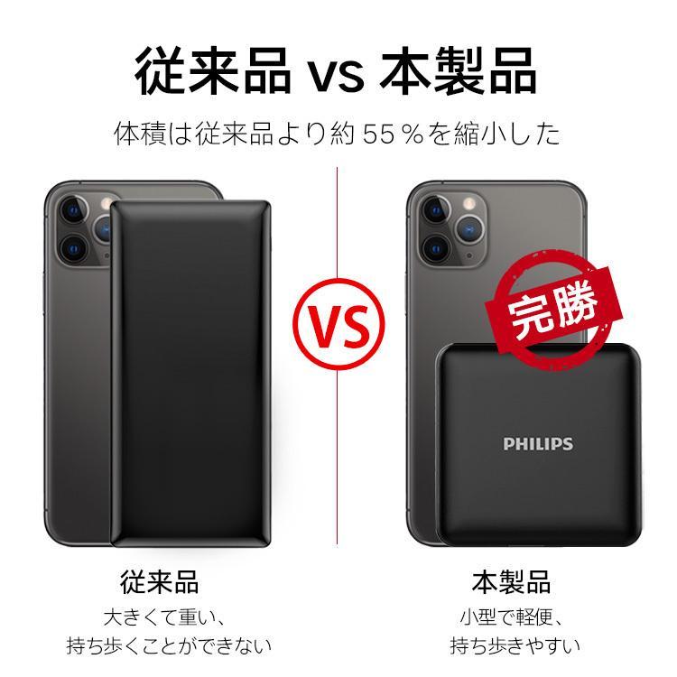 モバイルバッテリー 大容量 10000mAh 急速充電 軽量 小型 安全 コンパクト PSE適合品 2台同時充電 Type-C 入力 iPhone/iPad/Android 各種対応 送料無料 richgo-japan 06
