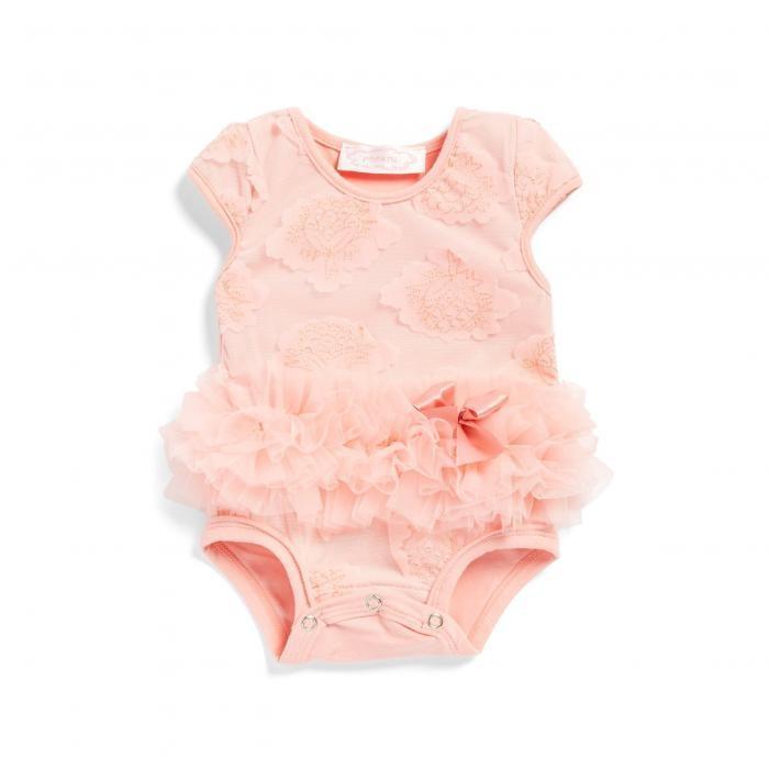 海外モデル スポーツ ベビー 赤ちゃん用 カジュアル/ファッション POPATU FLOWER TUTU BODYSUIT レディースファッション