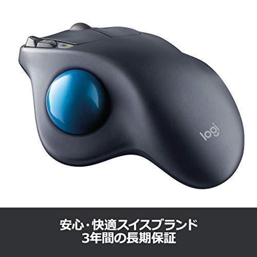 ロジクール ワイヤレスマウス トラックボール 無線 M570t Unifying 5ボタン トラックボールマウス 電池寿命最大18ケ月 国内正規品 3 riftencom 07