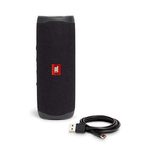 JBL FLIP5 Bluetoothスピーカー IPX7防水/USB Type-C充電/パッシブラジエーター搭載/ポータブル ブラック JBLFLI|riftencom|08