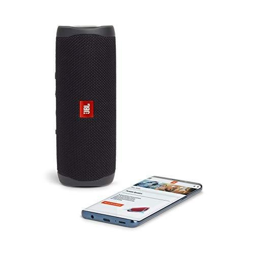 JBL FLIP5 Bluetoothスピーカー IPX7防水/USB Type-C充電/パッシブラジエーター搭載/ポータブル ブラック JBLFLI|riftencom|10
