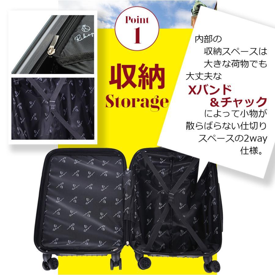 【今だけマスクプレゼント♪】スーツケース  RIKOPIN公式 SSサイズ  (ダイヤルロック) 機内持ち込み sc-002ss 軽量 シンプル 送料無料  キャリーバッグ おしゃ|rikopin|06
