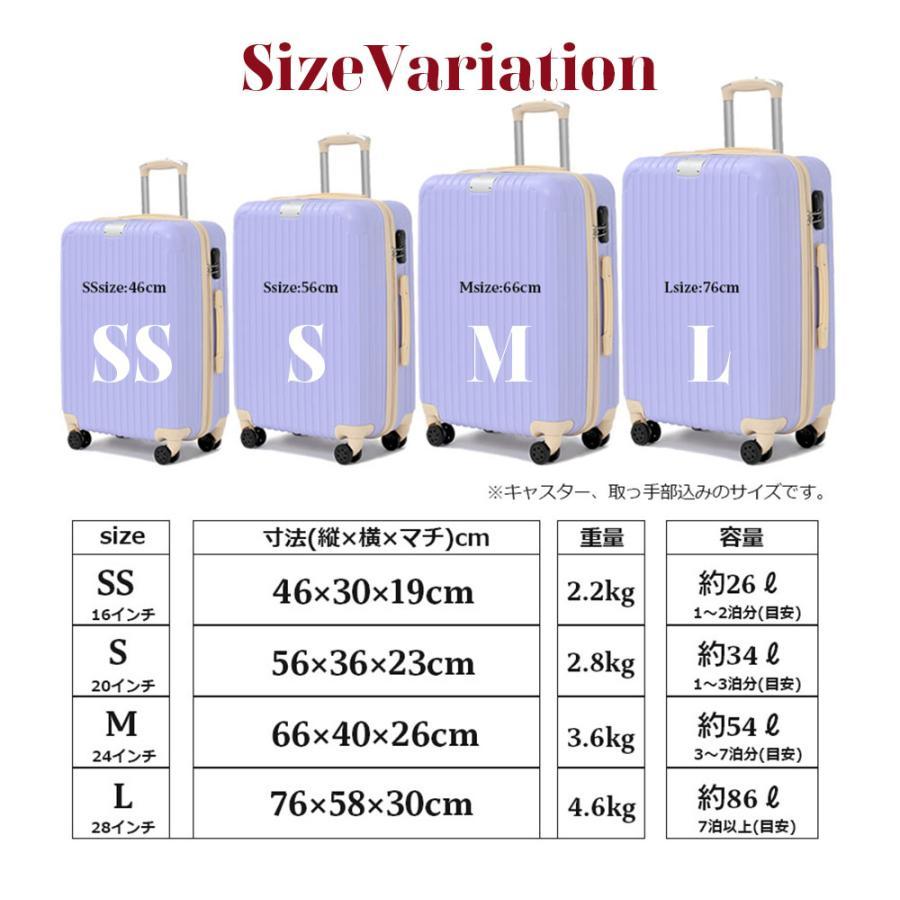 【今だけマスクプレゼント♪】スーツケース  RIKOPIN公式 SSサイズ  (ダイヤルロック) 機内持ち込み sc-002ss 軽量 シンプル 送料無料  キャリーバッグ おしゃ|rikopin|09