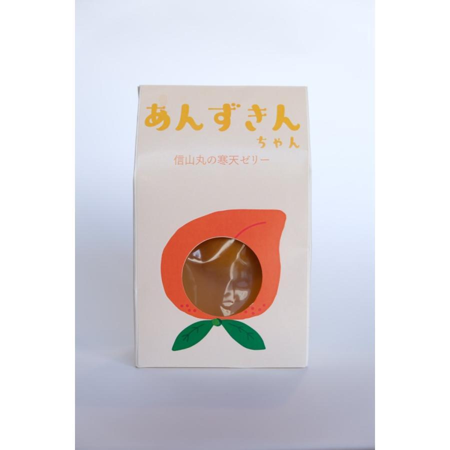 あんずきんちゃん - 信山丸の寒天ゼリー -|rikyudo