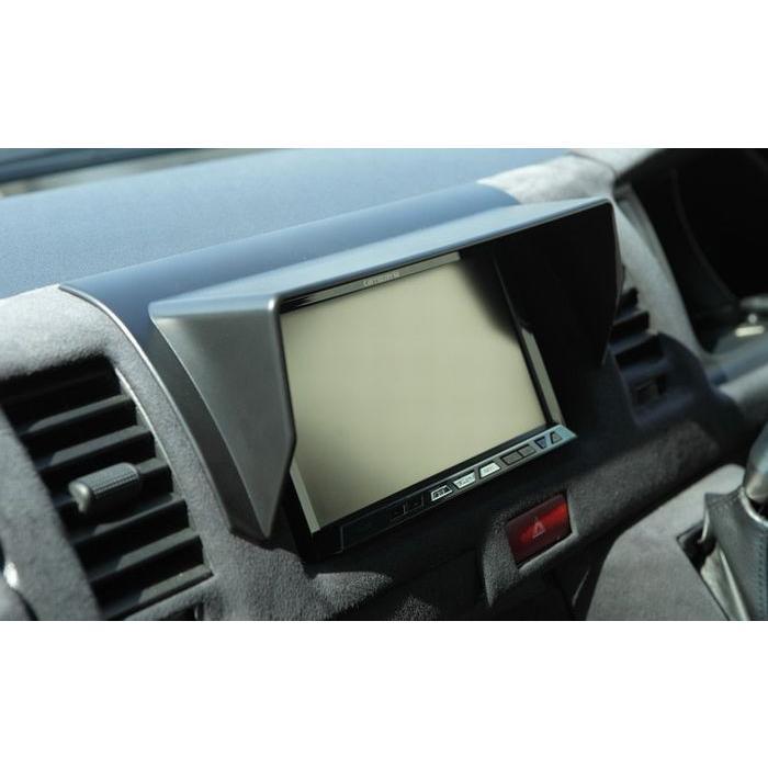 リムコーポレーション 200系 ハイエース 2/4WD用 ナビバイザー 下記車両型選択必要|rim|02