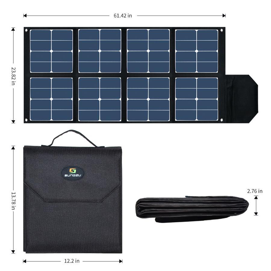 SUNGZUパワーステーションポータブル電源APS150用ソーラパネル 代引不可|rim|03