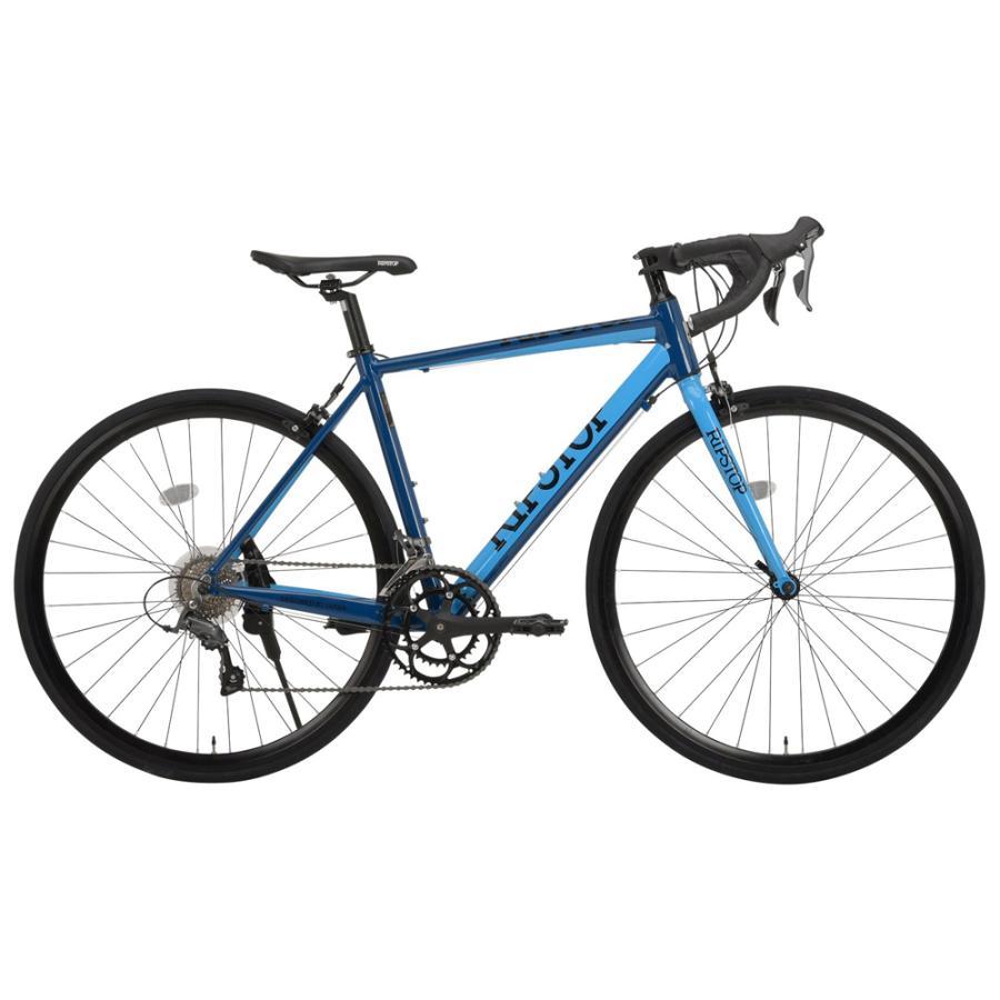 《スポーティな走り心地を保証する16段変速アルミロードバイク》RIPSTOP 700x25C 16段変速ロードバイク gallop RSAR-01 (50564)ブルー