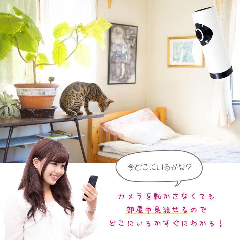 ペット 監視カメラ スマホ 家庭用 ワイヤレス 防犯カメラ 見守りカメラ ベビーカメラ Wi-Fi iPhone EC6|ring-g|13