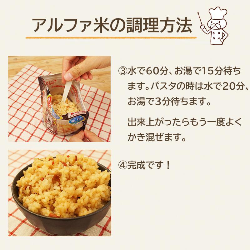 非常食 アルファ米 非常食セット 防災セット 5年保存 保存食 防災食 マジックライス&マジックパスタ 12種 コンプリートセット|ring-g|08