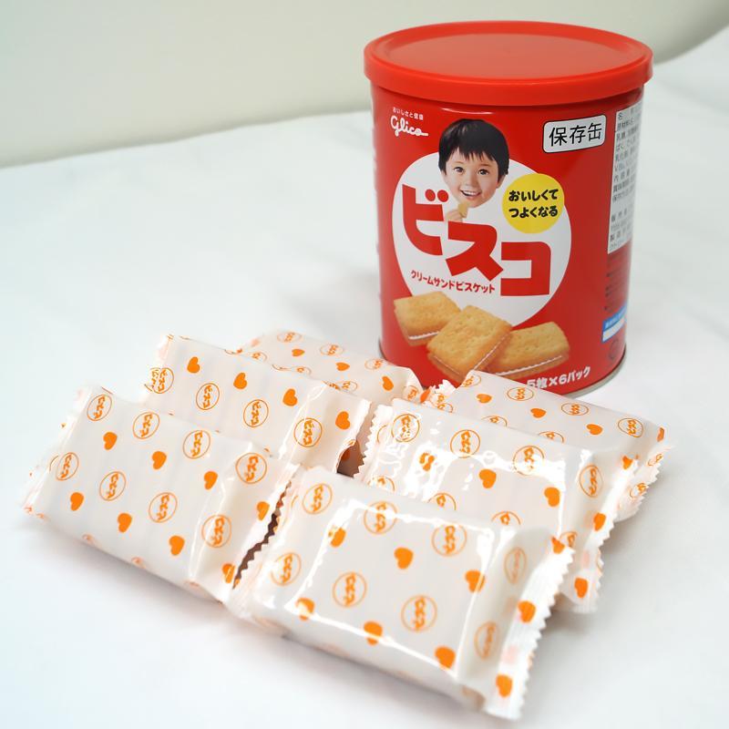 ビスコ保存缶 グリコ 非常食 保存食 5年保存 備蓄 おいしい お菓子 ビスケット|ring-g|11