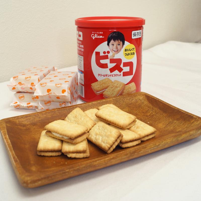 ビスコ保存缶 グリコ 非常食 保存食 5年保存 備蓄 おいしい お菓子 ビスケット|ring-g|13