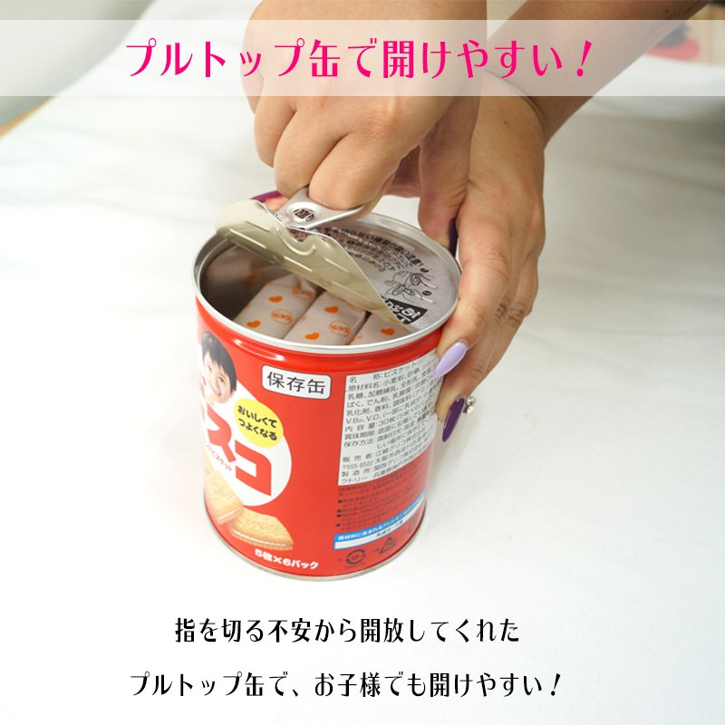 ビスコ保存缶 グリコ 非常食 保存食 5年保存 備蓄 おいしい お菓子 ビスケット|ring-g|07