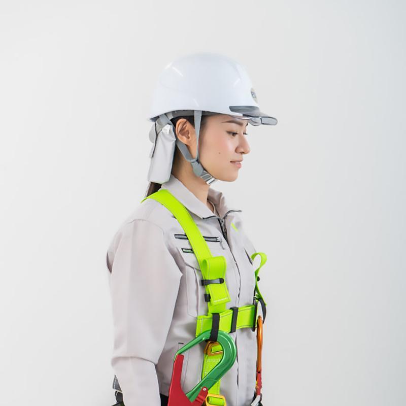 メール便対応 熱中症対策 ヘルメット 建設業 現場 農作業 工事 クール 暑さ対策 熱中症対策グッズ そーかいくんII|ring-g|07