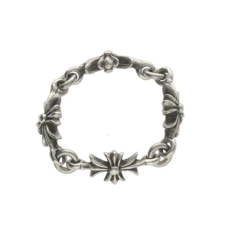 【年中無休】 クロムハーツ Chrome CH Hearts Chrome RING TNY E CH PLS TNY/タイニーECHプラス シルバーリング【SS07】【302002】【】, GOODLUCK jewelry:ca80a6a2 --- airmodconsu.dominiotemporario.com
