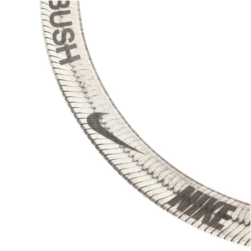見事な創造力 アンブッシュ AMBUSH SHORT NECLACE 12111874 ロゴショートネックレス F シルバー 【SJ02】【702191】【】, 飛騨高山特販 54b7f888