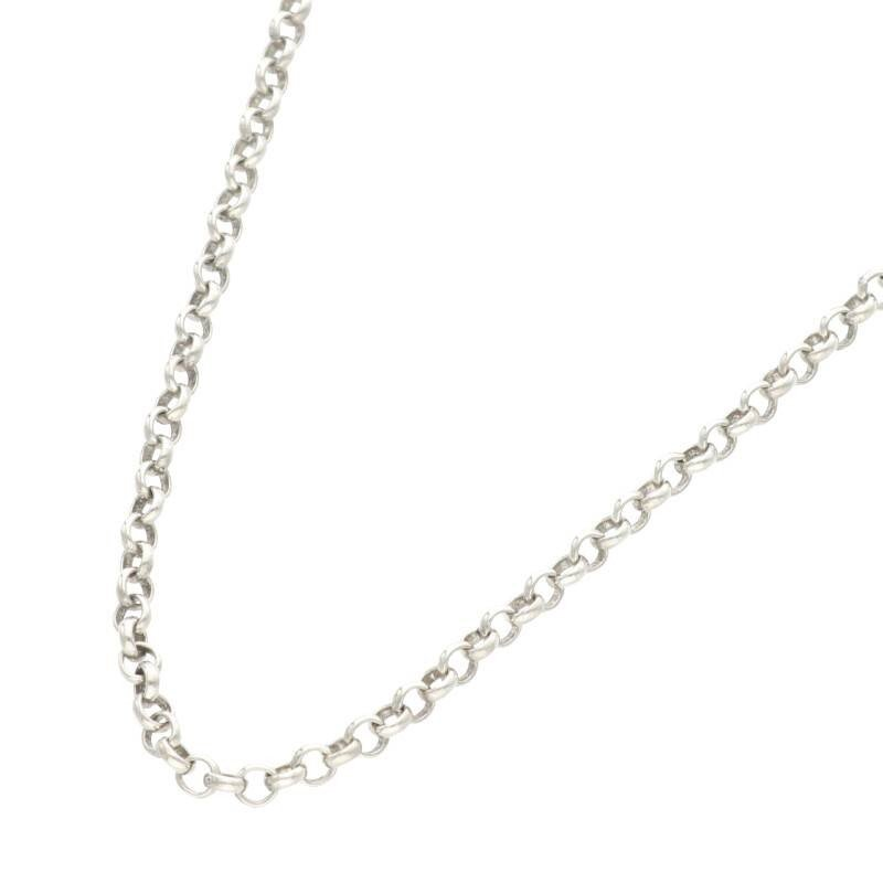 ブランド品専門の クロムハーツ Chrome Hearts NECKCHAIN R20/ロールチェーン20inch ネックレス【OM10】【422002】【】, インカムショップ b20a91b9