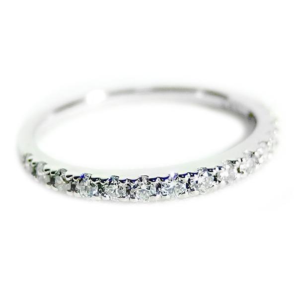 肌触りがいい ダイヤモンド リング ハーフエタニティ 0.3ct プラチナ Pt900 11号 0.3カラット エタニティリング 指輪 鑑別カード付き, 時計メガネレンズのプライムアイズ b144c1b0